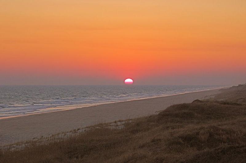 Sunset Roosevelt Beach Access