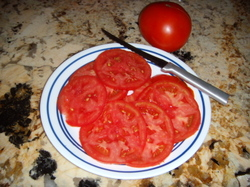 Firsttomatosandwich